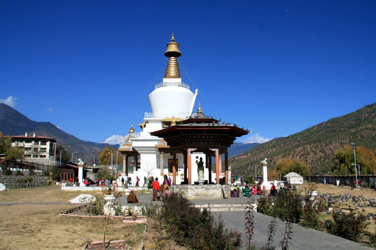 Memorial-Chorten-Thimphu-Bhutan